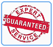 Expert service guaranteed