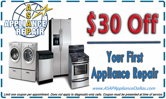 Appliance Repair Promotions Asappliance Repair Dallas